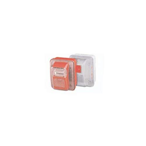 Best Bargain Gentex WGEC24-75PWWLP Low Profile Outdoor Evacuation Horn/Strobe (White)