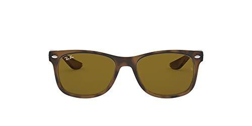 Ray-Ban Unisex Rj9052s Sonnenbrille, Mehrfarbig (Gestell: Havana,Gläser: braun 152/3), Medium (Herstellergröße: 47)