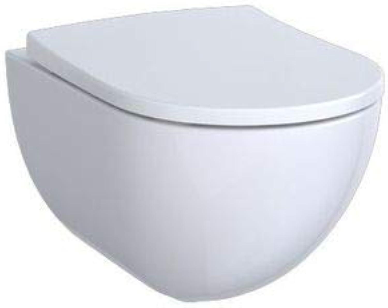 Keramag ACANTO Tiefspül-WC 4,5 6 l, wandhngend, spülrandlos wei-alpin