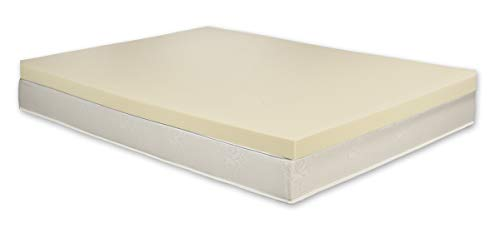 Carousel 100% Orthopaedic Memory Foam Mattress Topper | UK Single | 3' Thick | Made In UK | Fast Delivery