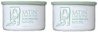 Satin Smooth Aloe Vera Wax 2 Pack by Satin Smooth