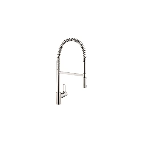 Product Image of the hansgrohe Talis Loop Kitchen Faucet 1-Handle Tall in Stainless Steel Optic, 04700805