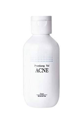 [ PYUNKANG YUL ] Acne Toner 150ml- Korean Skincare for chronic acne concerns, Acne Treatment, Calming, Soothing, Pore Tightening, Exfoliation, Skin Sebum control for Acne-prone, Sensitive, Oily skin