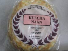 Baklava Bakery Kulcha Naan Bread 4 Pack / 5 Count Each Pack