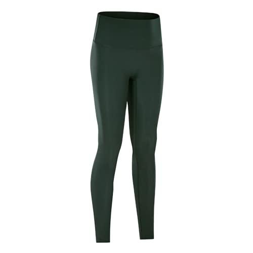 QTJY Leggings sin Costuras de Cintura Alta, Pantalones de Entrenamiento para Mujer, Pantalones de Yoga, Leggings con Push-ups, Mallas de Fitness elásticas para el Abdomen, DS