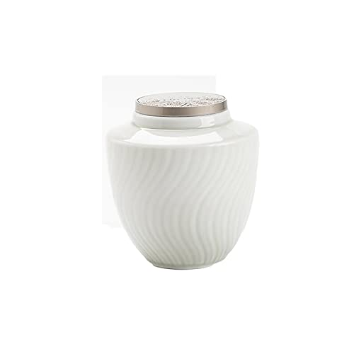 LYQZ Food Storage Jars, Ceramic Food Storage Jars With Sealed Lids, Used For Bulk Tea Coffee Spice Sugar Jars