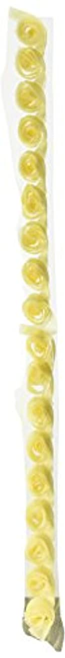 Kaisercraft - Ribbon  Roses  - Lemon, 5-Pack
