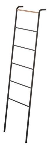 GERSON 2813 - Toallero de Metal, Negro, 45 x 24 x 160 cm