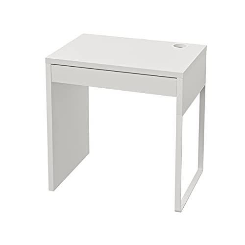 IKEA Micke, scrivania, dimensioni: 73 x 50 cm, colore: bianco bianco
