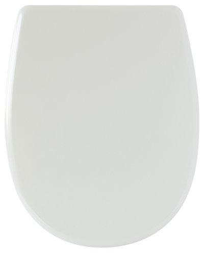 Bemis Lunette WC en bois moulur/é Blanc