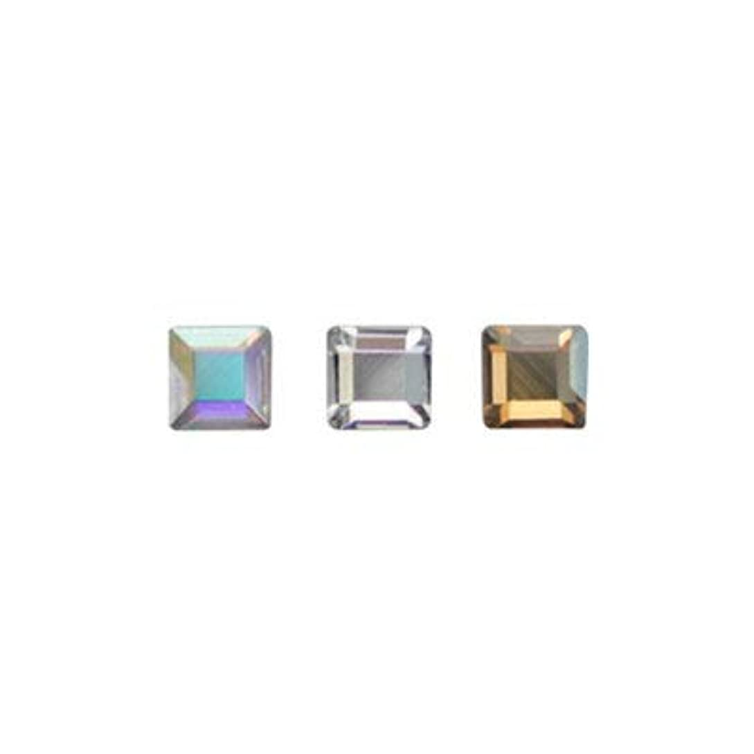 穀物村ジャーナルSWAROVSKI #2400 スクエア アソート 2.2mm 3色×各10粒