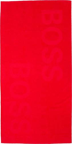 BOSS Beachtowel Solid, Bright Red