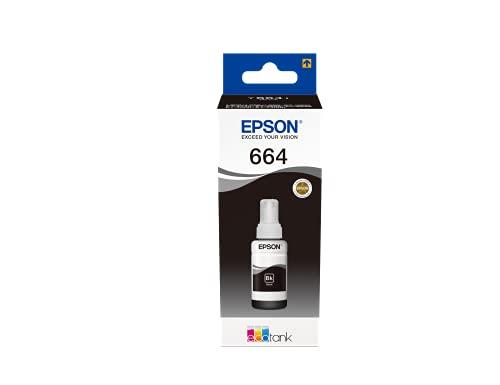 Epson T6641 Cartuccia d'Inchiostro Originale, Colore Nero