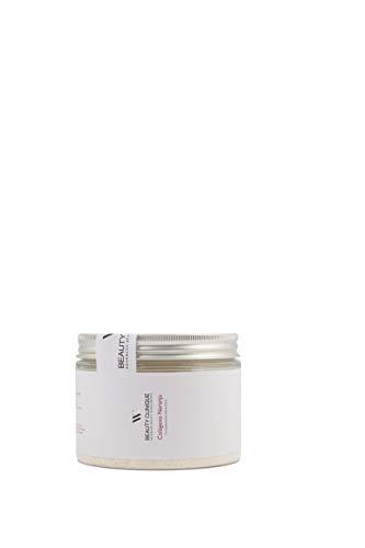 Beauty Clinique - Nutricosmética - Colágeno Naranja - Complemento Alimenticio Con Peptan, Ácido Hialurónico y Vitamina C - Con Efecto Anti-Edad - Piel Más Tersa e Hidratada - 350 gramos