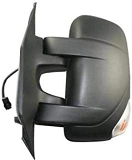 Espejo retrovisor izquierdo completo eléctrico térmico brazo corto con intermitente