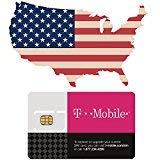 USA Prepaid-SIM-Karte für die vereinigten Staaten mit 50GB 4G/LTE-Daten, Unlimited Nationale Anrufe & Texte in den USA. Tethering mit maximaler 3G-Geschwindigkeit für 21 Tage.