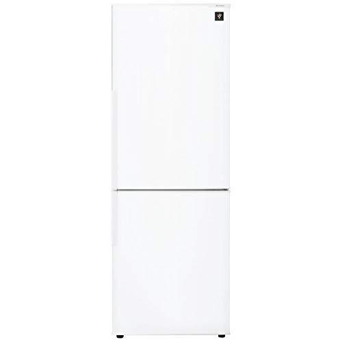 シャープ プラズマクラスター搭載 冷蔵庫 270L(幅54.5cm) 大容量ボトムフリーザー ホワイト系 SJ-PD27D-W
