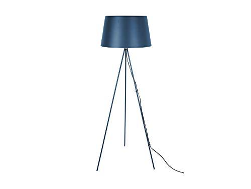 LEITMOTIV vloerlamp Classy metaal donkerblauw, ijzer