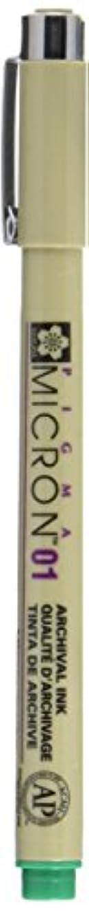 Sakura Pigma Micron Pen.25mm Bulk Green, 0.25mm