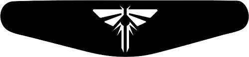 Adesivo Play Station PS4Lightbar, motivo a scelta nero nero The Last of Us (schwarz)