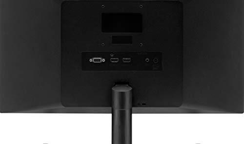 LG 22MK600M Monitor, 21.5, LED IPS Full HD (1920x1080), 5 ms, Radeon FreeSync 75 Hz, VGA, HDMI, Borderless