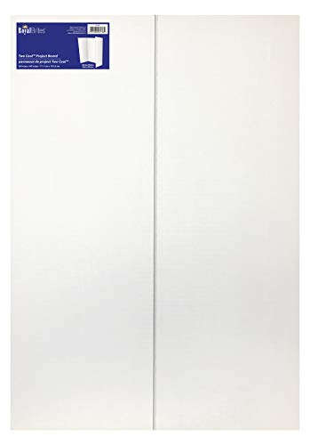 Royal Consumer 2 Cool Colors Project Board, White, 28 x 40 inches, 12 Count (27136)