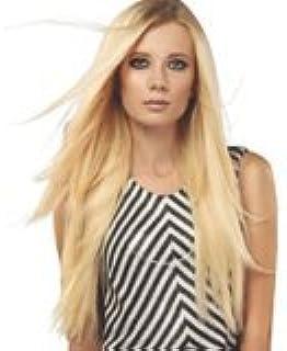 Human Hair Volumizer Halo Extension by SHE USA (Black #1-B Wavy)