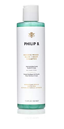 Price comparison product image PHILIP B Nordic Wood Hair & Body Shampoo,  11.8 oz