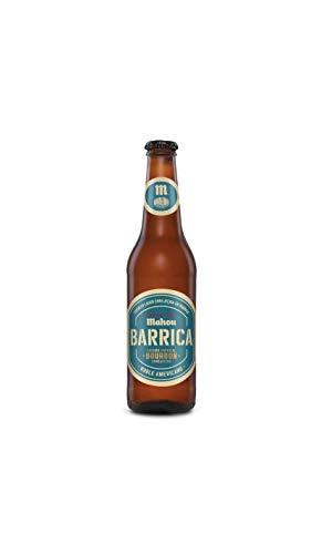 Mahou - Barrica Edición Especial Cerveza Envejecida Bourbon, 6.9% Volumen de Alcohol - Botella de 33 cl