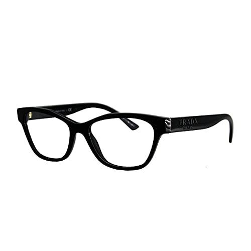 Prada Gafas de Vista PR 03WV Black 53/16/140 mujer