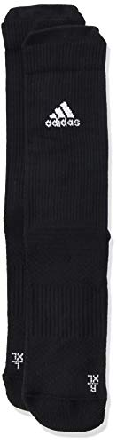 adidas Ask CRW LC S Socks, Black/White/White, L