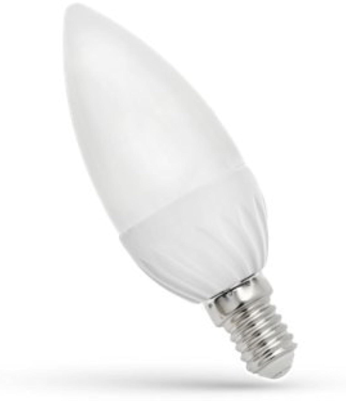 10x Glühbirne LED 6W Sockel E14500LM (Lumen) entspricht 40W Neutralwei 4000–4500K Abstrahlwinkel Breite 160Grad Umweltfreundlich und Energieeinsparung [Energieeffizienzklasse A +] Leuchtmittel LED e-14geringer Verbrauch