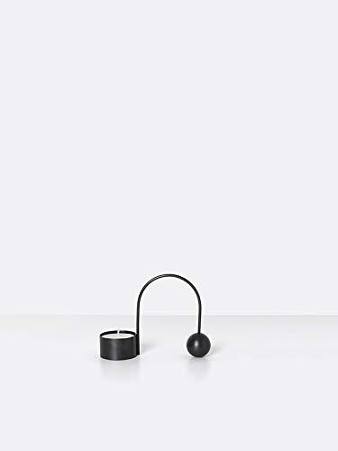 Ferm Living - Balance Teelichthalter schwarz