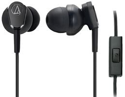 Audio Technica ATH-ANC33IS Noise Cancelling In-Ear-Kopfhörer Schwarz