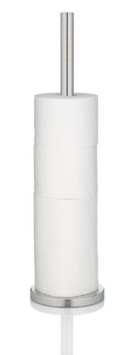 Kela 22828, Toilettenpapierhalter für 5 Rollen, Edelstahl, Carta, 57cm, Silber Matt