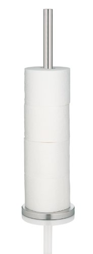 kela WC-Papierhalter Carta 15x57cm aus Edelstahl in silber, 15 x 15 x 57 cm