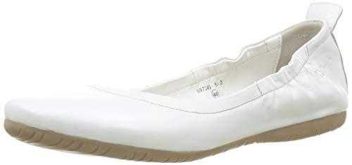 Kickers Baleriny damskie zamknięte, biały - biały Blanc 3-41 EU