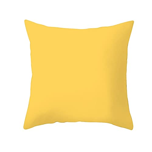 Pineapple Leaf Cushion Cover Summer Pineapple Printing Decorative Pillowcase Polyester Yellow Throw Pillow Case for Sofa