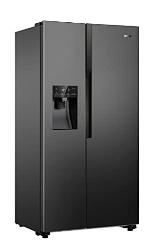 Gorenje NRS9182VB frigo américain Autoportante 562 L E Noir