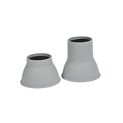 Gordon Ellis - Tacos elevadores para muebles, tamaño de copa (8.5 cm) y profundidad (1.5 cm)