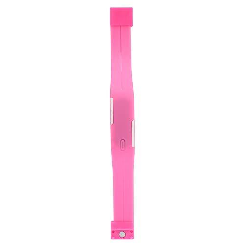 WLH Niños LED Reloj De Pulsera Digital Electrónico Banda De Plástico Reloj De Pulsera Rectangular Rosa