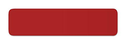 Anhänger Planen Reparatur Pflaster | in vielen Farben erhältlich | 40cm x 10cm | SELBSTKLEBEND | Speed Repair | RAL 3000 feuerrot