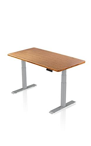 - AGIL - Elektrisch Höhenverstellbarer Schreibtisch -...