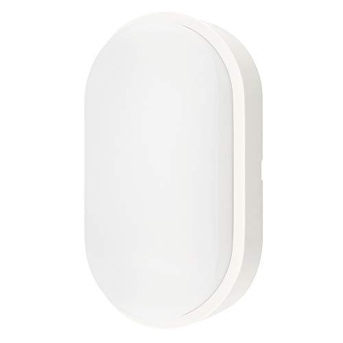 M MEGA MEGACUBE Außenbeleuchtung von Wänden 14W LED Aussenleuchte, 4000K, 1000lm, IP54-geschützt Wasserdicht Wandlampe, Weiß - 1 Stück