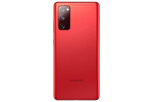 Samsung Galaxy S20 FE 5G, Android Smartphone ohne Vertrag, 6,5 Zoll Super AMOLED Display, 4.500 mAh Akku, 128 GB/ 6 GB RAM, Handy in Rot inkl. 36 Monate Herstellergarantie [Exklusiv bei Amazon] - 2