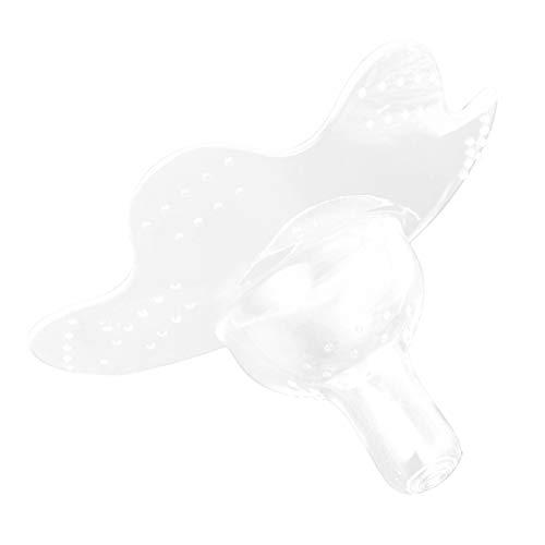 NUOBESTY Pezón Protector de Silicona Lactancia Materna Pezón Protector para Pezones Agrietados Pezón Invertido Plano