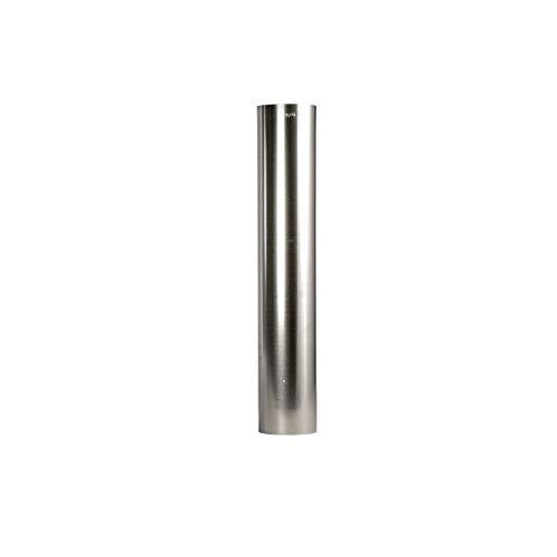 FAL Ofenrohr 1,0m 120mm Durchmesser Rauchrohr feueraluminiert Silber