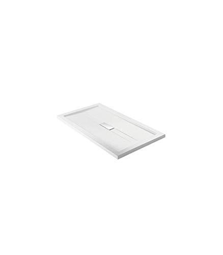 Teuco - Douchebak Wilmotte acryl wit - 90x90, Wit, Op voorraad