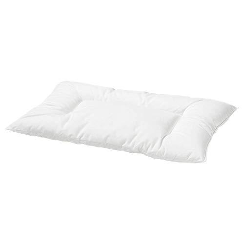 Ikea IKE-000.285.08 Kinderkopfkissen LEN-35x55 cm-Weiß