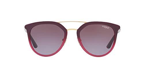 Vogue 0VO5164S Gafas de sol, Opal Violet Gradient Violet, 52 para Mujer